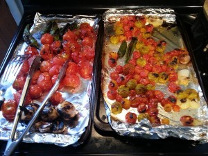 Charred Veggies