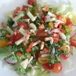 Salad of Cherry Tomatoes